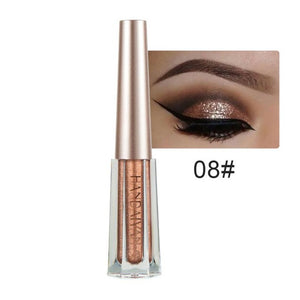 2019 NEW Metallic Shiny Smoky Waterproof Glitter Liquid Eyeliner