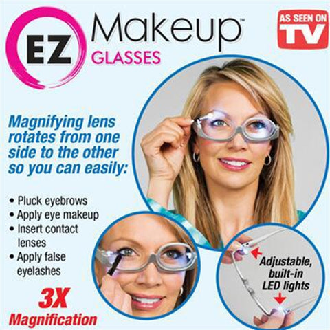 Image of Lighted Makeup Glasses