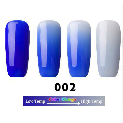 18 Colors Thermal Temperature Change Color Nail Gel