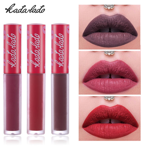 Image of Waterproof Long Lasting Liquid Matte Lipstick Lip Gloss
