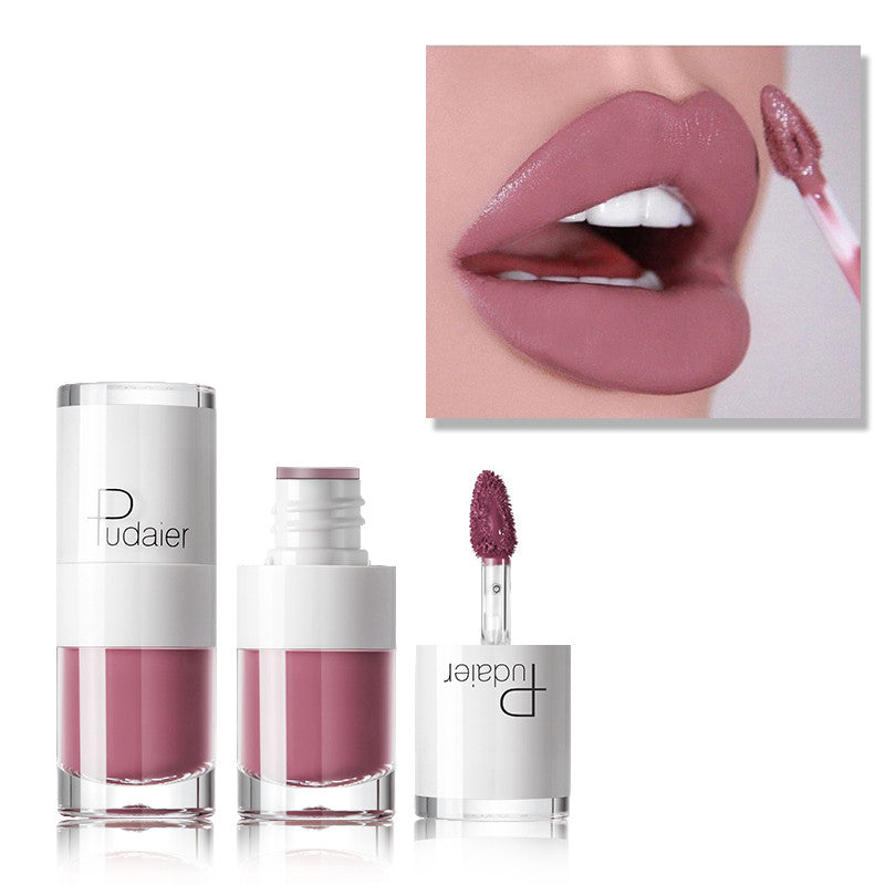 PUDAIER 16 Velvet Nude Makeup Waterproof Liquid Lip gloss