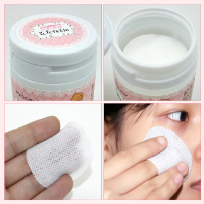 Image of Deep natural makeup remover wipes /100 pcs
