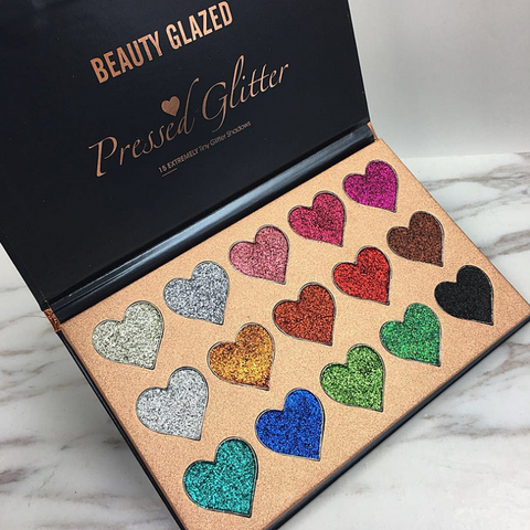 Image of Beauty Glazed Pressed Water-proof Glitter Palette