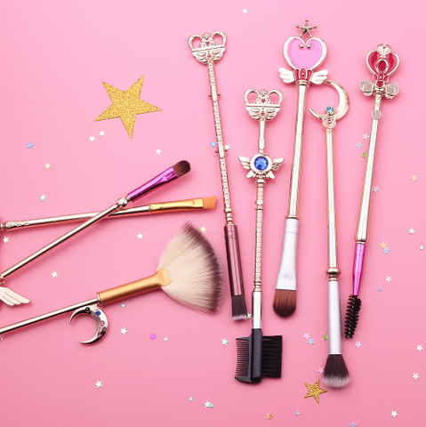 Image of 8 Sailor Moon Makeup Brushes