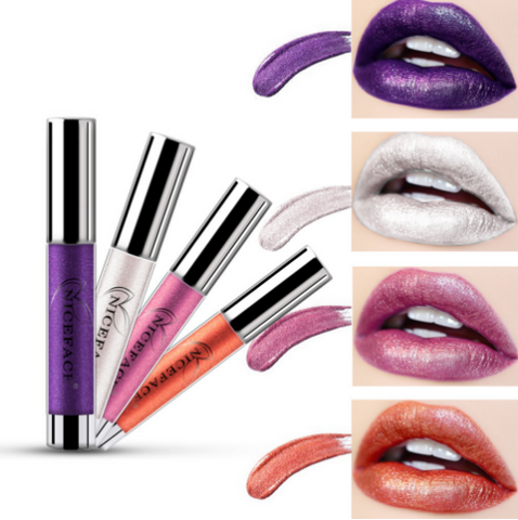 Image of NC Metal Color Durable Waterproof Masonry Lip gloss