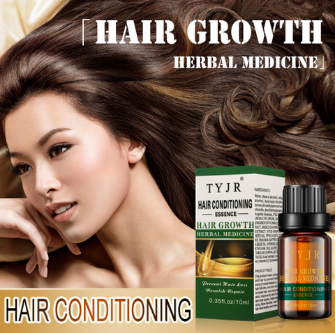 TYJR 10ml Hair Growth Herbal Medicine Essence Oil