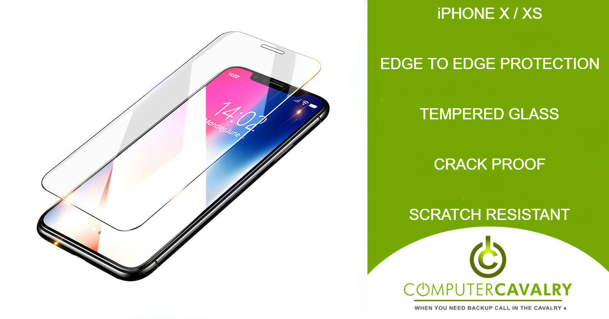 Glass Screen Protector for iPhone X/iPhone XS