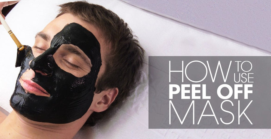 Here's how to use a face mask