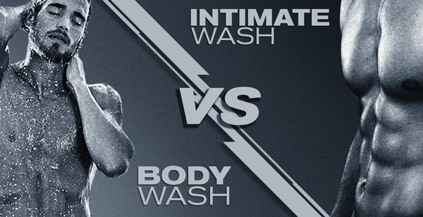 The difference between body wash and an intimate wash