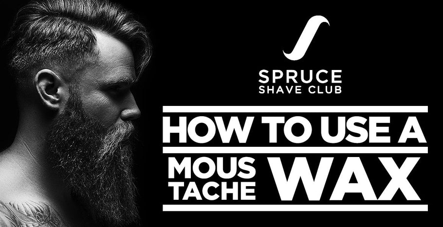 How to use a moustache wax the right way