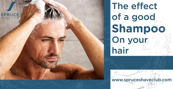 The effect of a good shampoo on your hair