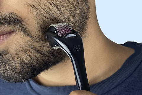 Derma Rolling for more Beard Growth, Micro Needling for more Beard Growth