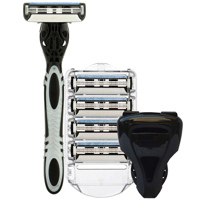 The 3X Shaving Razor Kit - SpruceShaveClub