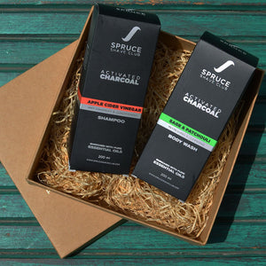 Charcoal Shower Duo | Body Wash & Shampoo | SSG Exclusive - SpruceShaveClub