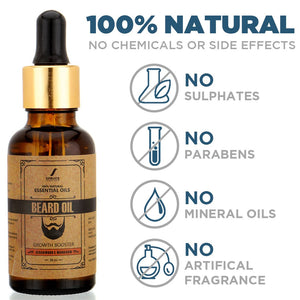 Beard Oil | Cedarwood & Mandarin (30ml) - SpruceShaveClub
