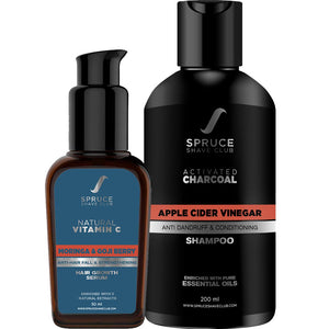 Hair Protection Duo | Hair Serum & Shampoo | SSG Exclusive - SpruceShaveClub