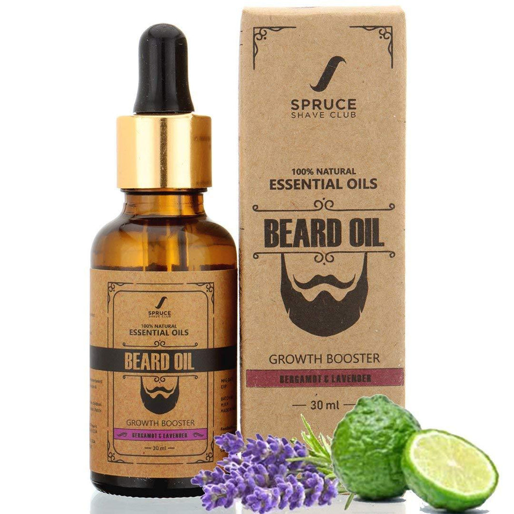 Beard Growth Oil | Bergamot & Lavender - SpruceShaveClub