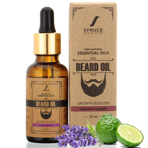 Beard Oil | Bergamot & Lavender (30ml)