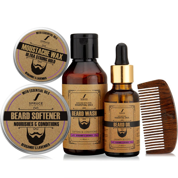 Beard Lovers Kit | Bergamot & Lavender