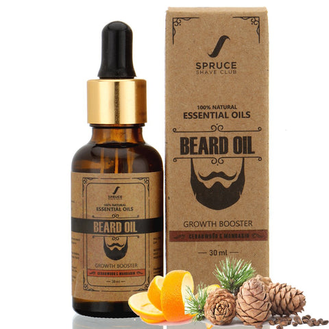 Beard Oil | Cedarwood & Mandarin (30ml)