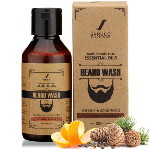 Beard Wash | Cedarwood & Mandarin (100ml)