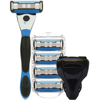 The 5X Shaving Razor Kit