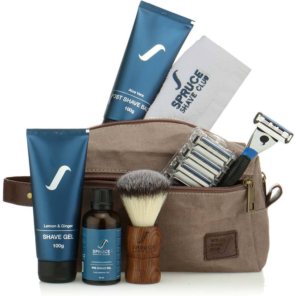3X Imperial Shaving Kit - SpruceShaveClub