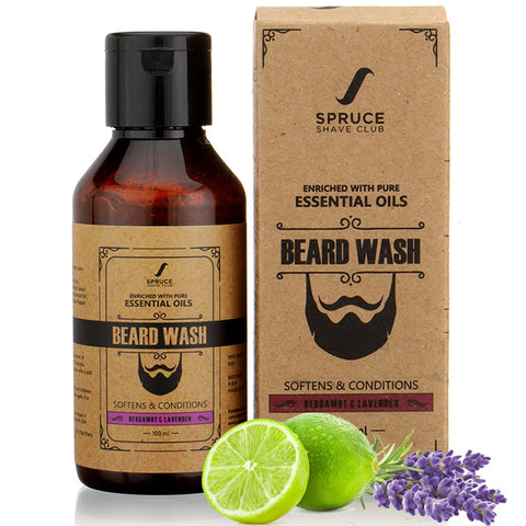 Beard Wash | Bergamot & Lavender (100ml)
