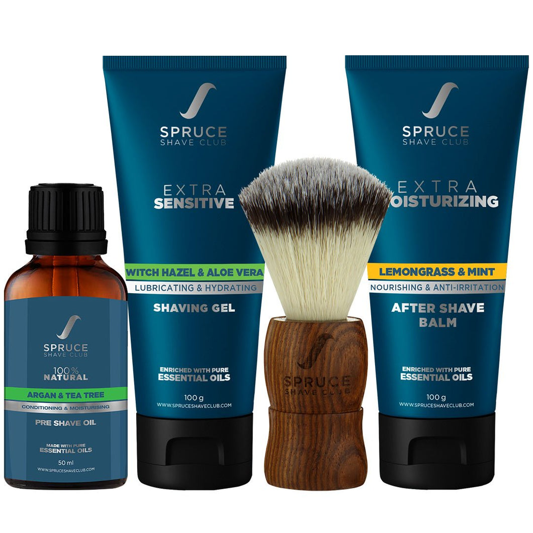 Extra Sensitive Shaving Essentials Kit