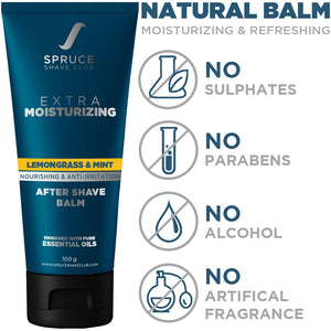 Aftershave Balm | Lemongrass & Mint - SpruceShaveClub