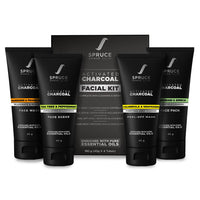 Activated Charcoal Facial Kit For Men
