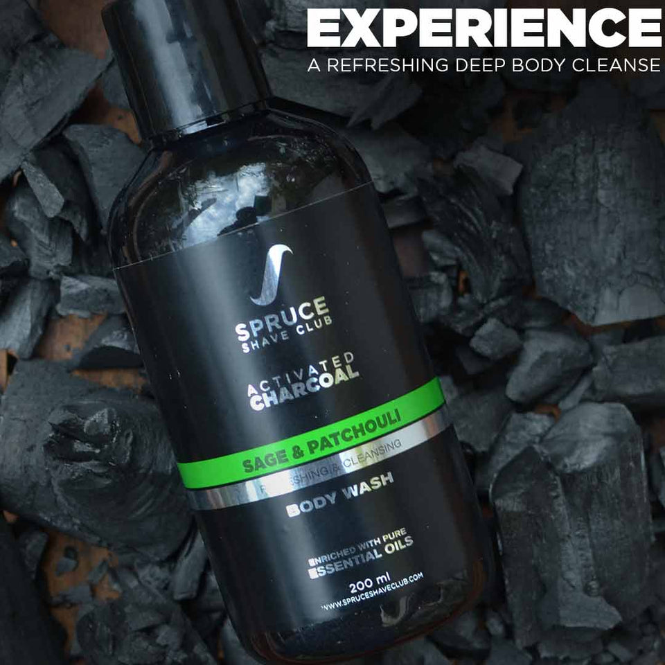 The Charcoal Cleansing Kit - SpruceShaveClub