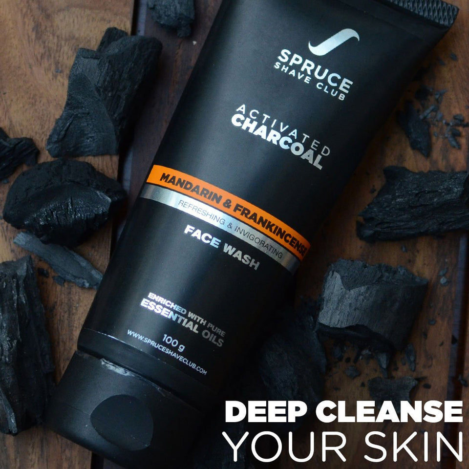 Charcoal Face Duo | Face Wash & Peel Off Mask - SpruceShaveClub