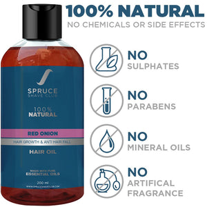 Hair Oil | Red Onion | 100% Natural - SpruceShaveClub