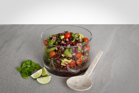 Black & Red Bean Salad