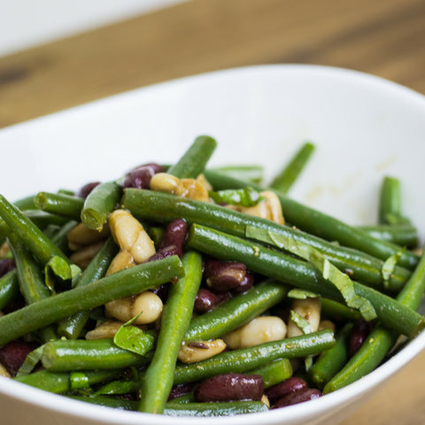 3 Bean Salad with Balsamic Vinaigrette