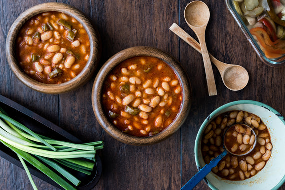 Beans in Sauce