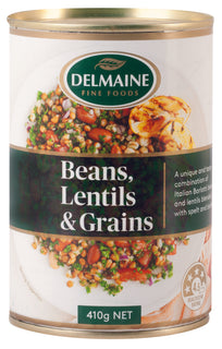 Delmaine Beans and Lentils with Wholegrains