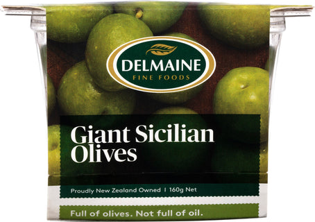 Delmaine Giant Sicilian Olives