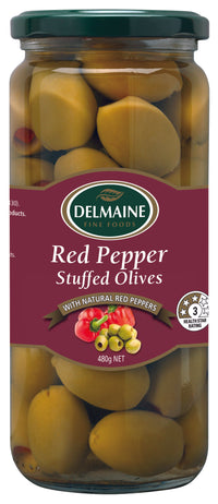 Delmaine Pitted Green Olives