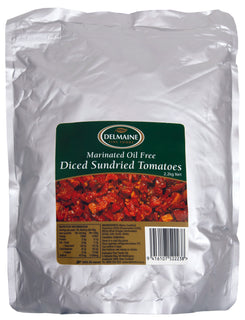 Delmaine Oil Free Diced Sundried Tomatoes