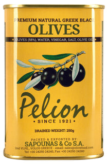 Pelion Black Jumbo Olives