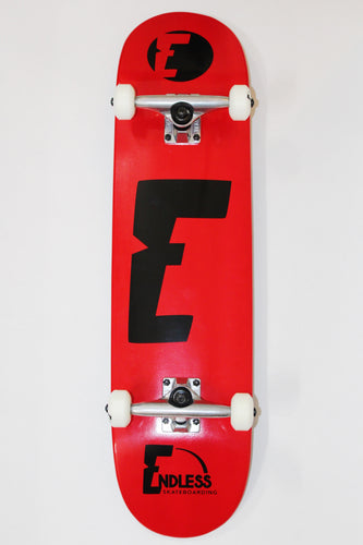 Endless Skateboarding Red Complete Skateboard