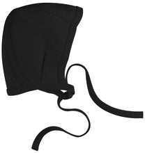 Load image into Gallery viewer, AMOUREUX BEBE BLACK BABY ESSENZA BONNET