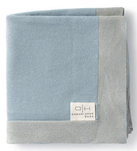 Load image into Gallery viewer, DOMANI HOME CLASSIC BLUE BABY BLANKET