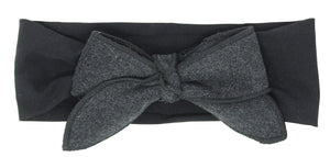 BANDEAU WOOL BOW BABY BAND