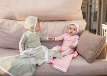 Load image into Gallery viewer, Cuddle & Coo Mint Outline Layette Set