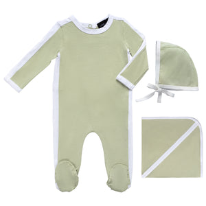 Cuddle & Coo Mint Outline Layette Set