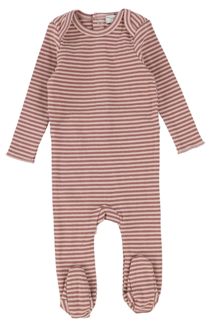 LIL LEGS MULBERRY STRIPED STRETCHIE