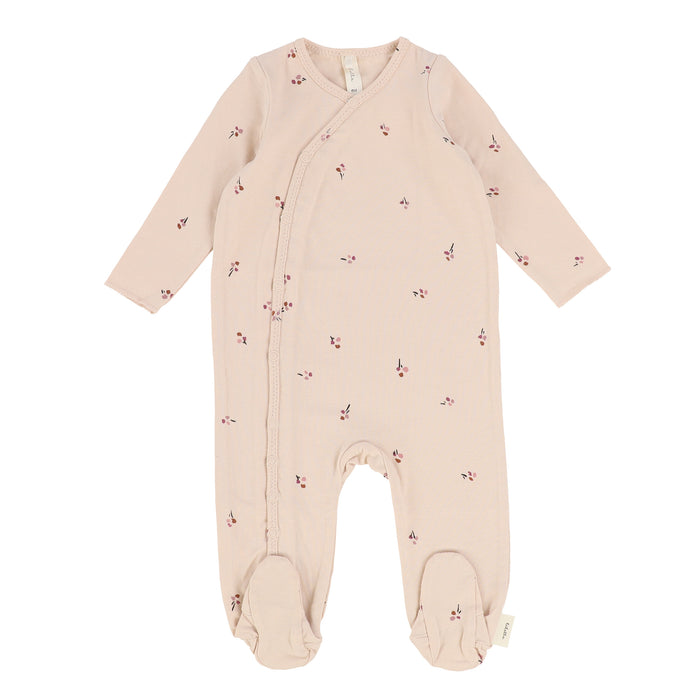 Lilette by Lil Legs Pale Pink/Mauve Poppy Stretchie
